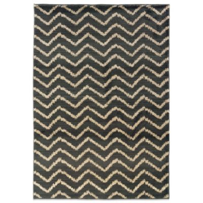 Oriental Weavers™ Marrakesh Zig Zag Rug in Grey