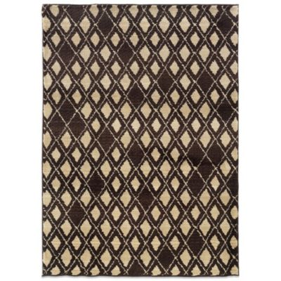 Oriental Weavers™ Marrakesh Diamond 4-Foot x 5-Foot 9-Inch Rug in Brown