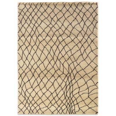 Oriental Weavers™ Marrakesh Fishnet 4-Foot x 5-Foot 9-Inch Rug in Ivory