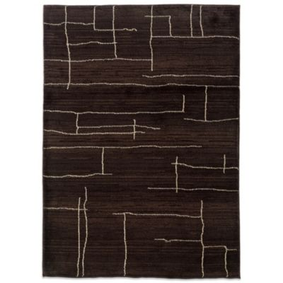Oriental Weavers™ Marrakesh Broken Lines Rug in Brown