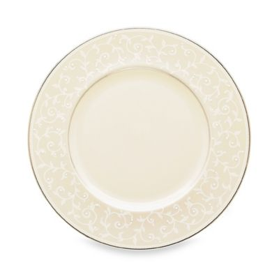 Lenox® Pearl Innocence™ Accent Plate in White
