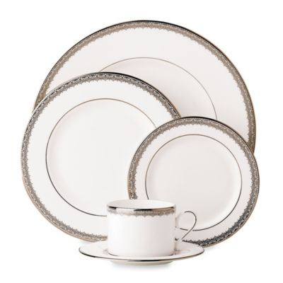 Lenox® Lace Couture 5-Piece Dinneware Place Setting