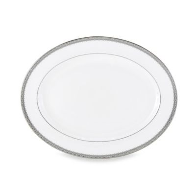 Lenox® Lace Couture 16-Inch Oval Platter