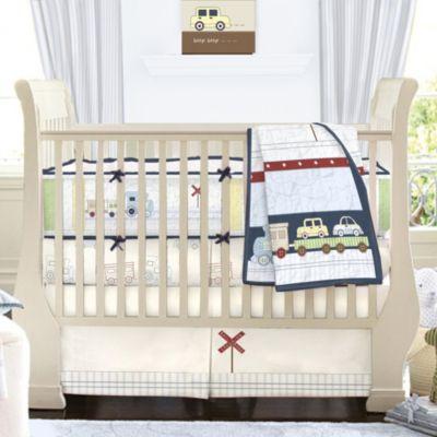 Keeco High Street Station 3-Piece Crib Set