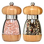 William Bounds Mushroom Bamboo Salt and Pepper Mills