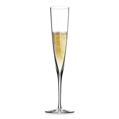 Set of Champagne Crystal Flutes