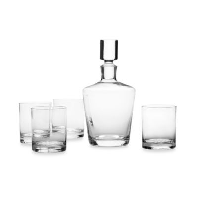 Clear Barware Set