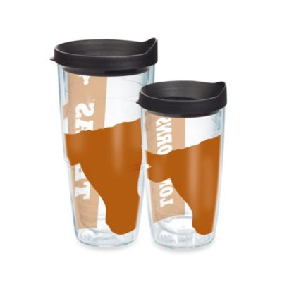 Tervis® Colossal Wrap University of Texas Tumbler with Black Lid