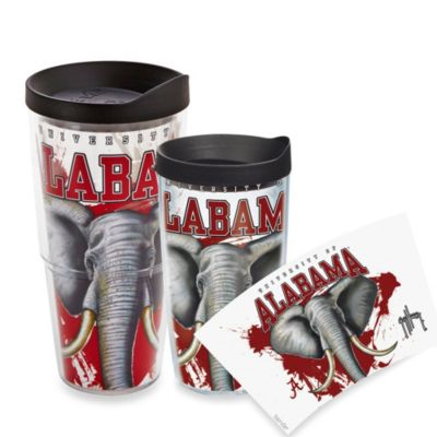Tervis® Guy Harvey University of Alabama Crimson Tide 16 oz. Wrap Tumbler with Black Lid