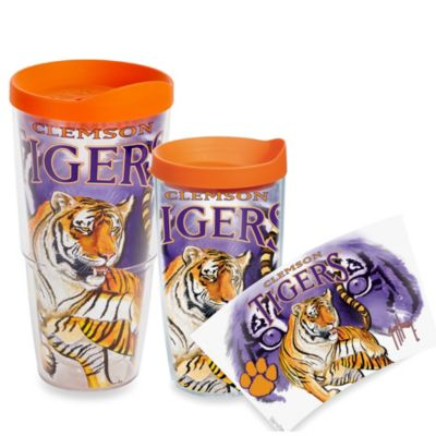 Tervis® Guy Harvey Clemson Tigers 16-Ounce Wrap Tumbler with Orange Lid