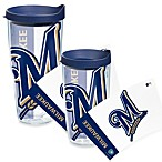 Tervis® Milwaukee Brewers Wrap Tumbler with Blue Lid