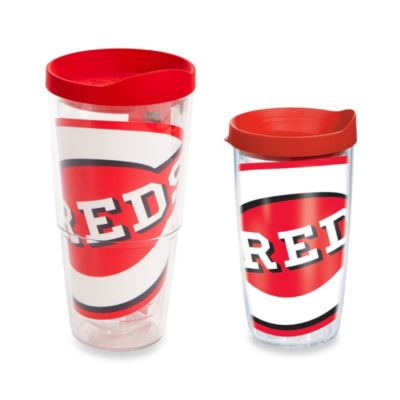 Tervis® Cincinnati Reds Colossal Wrap Tumbler with Red Lid