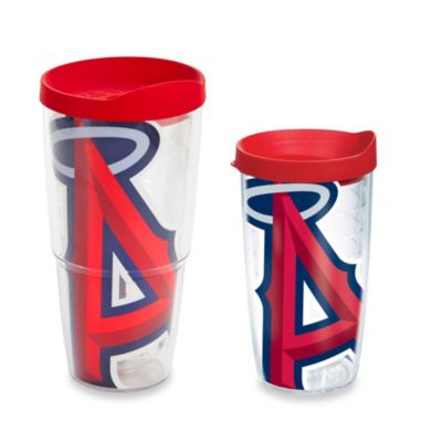 Tervis® Los Angeles Angels Colossal Wrap Tumbler with Red Lid
