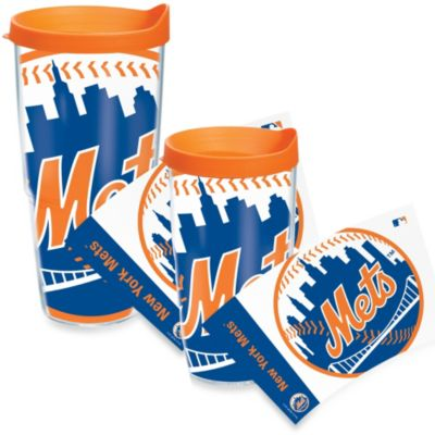 Tervis® New York Mets 24-Ounce Colossal Wrap Tumbler with Orange Lid