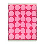 Just Born® Chenille Blanket in Pink Dots