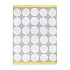 Just Born® Chenille Blanket in White Dots