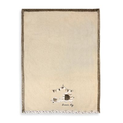 Just Born® Valboa Blanket with Elephant Applique