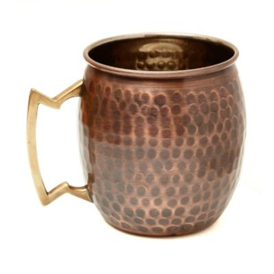 Old Dutch 16 oz. Antique Hammered Copper Moscow Mule