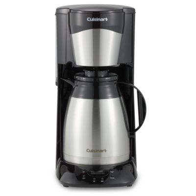 Coffee Maker Stainless Carafe : Cuisinart 12-Cup Stainless Steel Thermal Carafe Programmable Brew and Serve Coffee Maker - Bed ...