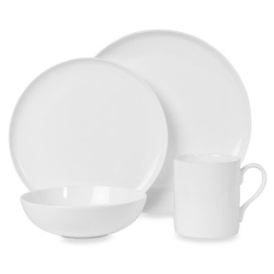 Fitz and Floyd® Nevaeh Coupe 4-Piece Dinnerware Set