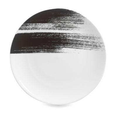 Black White Porcelain Dinner Plates