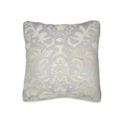 Lourdes Embroidered Square Toss Pillow