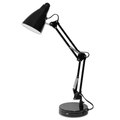Black Architect Lamp