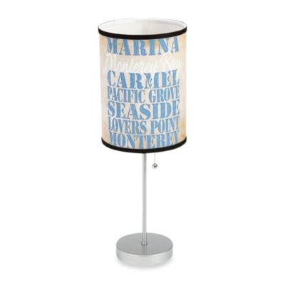 Aqua Table Lamp