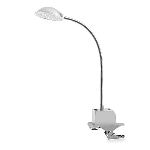 buy studio 3b led clip lamp with usb charger from bed bath beyond. Black Bedroom Furniture Sets. Home Design Ideas