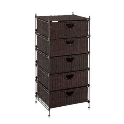 Neu Home 5-Drawer KD Seagrass Chest