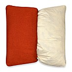 MYOP Mika 20-Inch Square Toss Pillow Cover in Rust