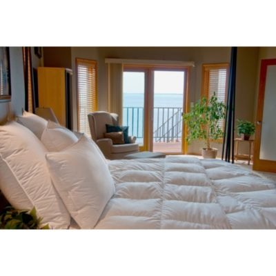 California King White Down Comforters