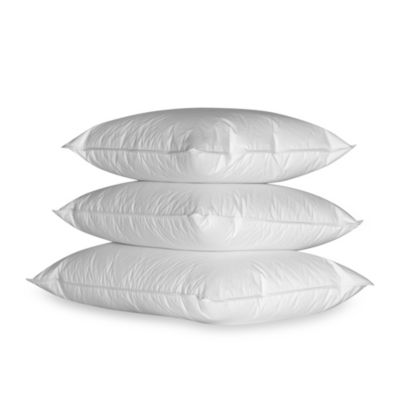 Ogallala Hungarian Goose Down Pearl White Double-Shell Medium Standard Sleeping Pillow