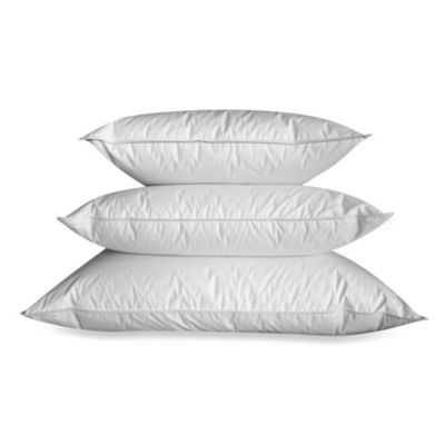 Ogallala Hungarian Goose Down Pearl White Double-Shell Extra Firm Standard Sleeping Pillow