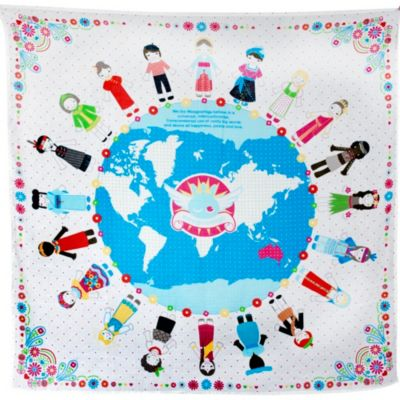 Weegoamigo World Peace Muslin Swaddle