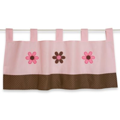 Pink Valance for Girl's Room