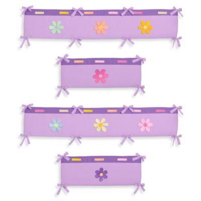 Sweet Jojo Designs Danielle's Daisies 4-Piece Crib Bumper