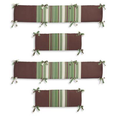 Sweet Jojo Designs Ethan 4-Piece Crib Bumper