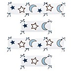 Sweet Jojo Designs Starry Night Crib Bumper