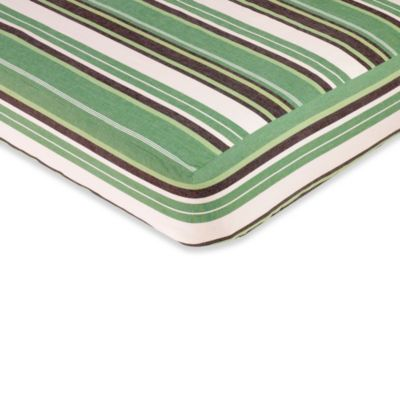 Sweet Jojo Designs Ethan Collection Striped Fitted Crib Sheet