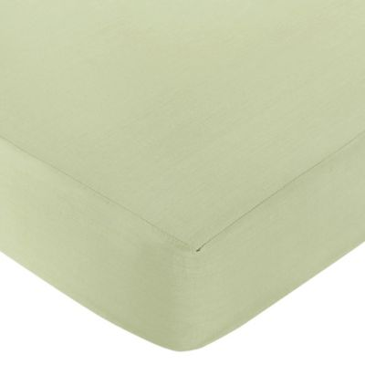 Sweet Jojo Designs Dragonfly Dreams Collection Fitted Crib Sheet in Light Green