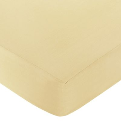 Sweet Jojo Designs Dragonfly Dreams Collection Fitted Crib Sheet in Yellow