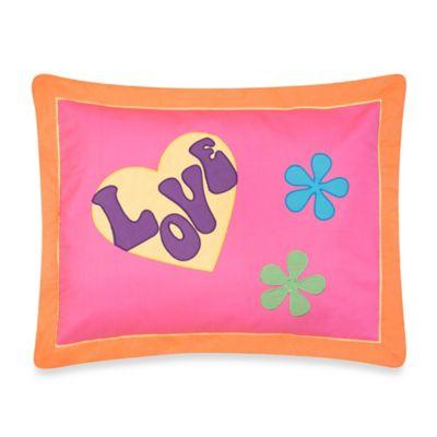 Sweet Jojo Designs Groovy Standard Pillow Sham