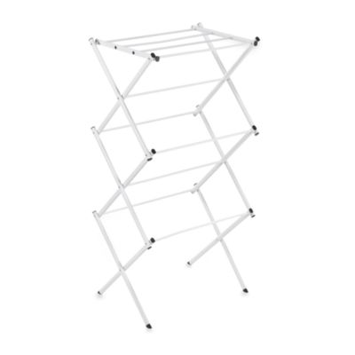 Polder® Compact Clothes Drying Rack in White