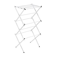 Polder® Compact Accordion Clothes Drying Rack in White