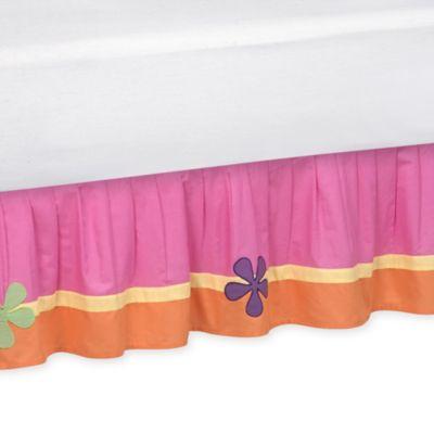 Sweet Jojo Designs Groovy Queen Bed Skirt