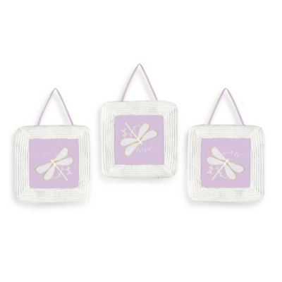 Dragonfly Dreams 3-Piece Wall Hanging Set