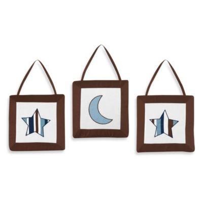 Sweet Jojo Designs Starry Night 3-Piece Wall Hanging Set