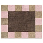 Sweet Jojo Designs Soho 30-Inch x 36-Inch Accent Rug in Pink/Brown