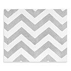 Sweet Jojo Designs Zig Zag Accent Floor Rug in Grey